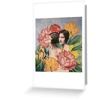 Twins II Greeting Card