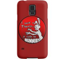I have a theory; it could be bunnies. Samsung Galaxy Case/Skin