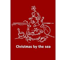 Christmas by the sea Photographic Print