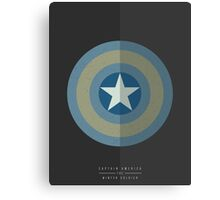 Captain America Winter Soldier Canvas Print