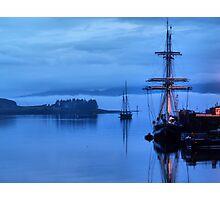 tall ships oban Photographic Print