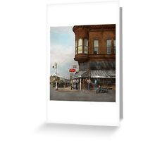 City - Dillon, Montana - Today's my day off - 1942 Greeting Card