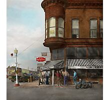 City - Dillon, Montana - Today's my day off - 1942 Photographic Print