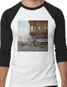 City - Dillon, Montana - Today's my day off - 1942 Men's Baseball ¾ T-Shirt