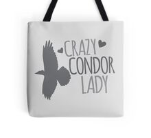 Crazy Condor Lady Tote Bag