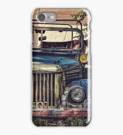 Gaz Jeep iPhone Case/Skin