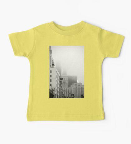 Buildings in the Fog Baby Tee