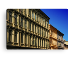 Oslo Streets Canvas Print