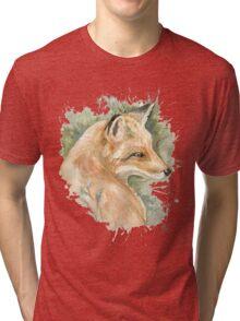 What does the fox say? Tri-blend T-Shirt