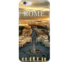 Cities of the World: ROME iPhone Case/Skin