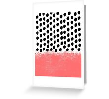 Lola - Abstract, pink, brushstroke, original, painting, trendy, girl, bold, graphic Greeting Card