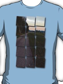 Country road into dawn | landscape photography T-Shirt