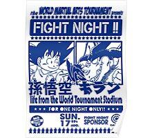 World Martial Arts Tournament Poster