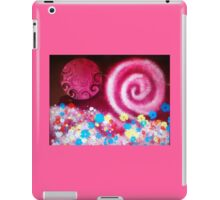 Pink Galactic Swirl- original digital painting iPad Case/Skin