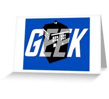 Geek My Ride- TARDIS Greeting Card