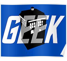 Geek My Ride- TARDIS Poster