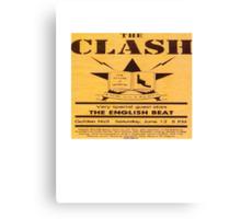The Clash T Shirt Canvas Print