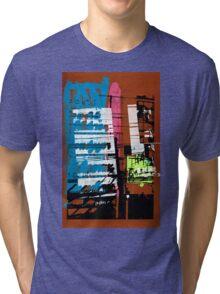 Thailand Facade Tri-blend T-Shirt