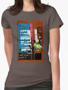 Thailand Facade Womens Fitted T-Shirt