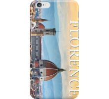 Cities of the World: FLORENCE - Cover and stickers iPhone Case/Skin