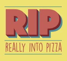 RIP Really Into Pizza Kids Clothes