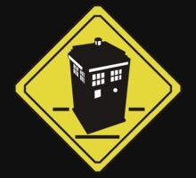 TARDIS Crossing by zenjamin
