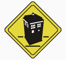 TARDIS Crossing Kids Tee