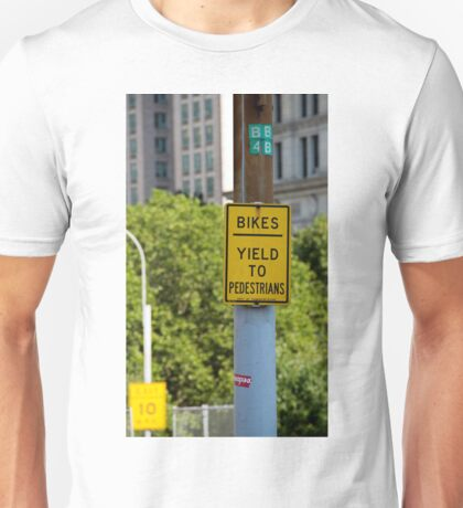 Signs of New York Unisex T-Shirt