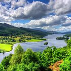 Looking over Loch Tummel by Tom Gomez