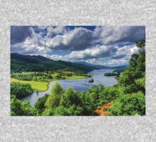 Looking over Loch Tummel T-Shirt