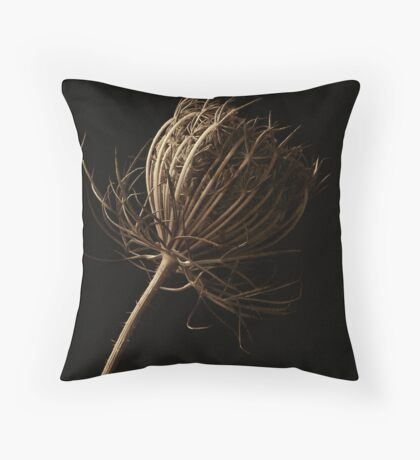 Queen annes lace Throw Pillow