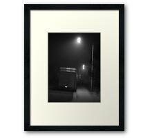 Trailer Noire Framed Print