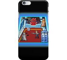 Doctor Who: The Arcade Game iPhone Case/Skin