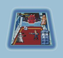 Doctor Who: The Arcade Game One Piece - Short Sleeve