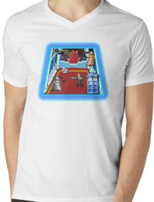 Doctor Who: The Arcade Game Mens V-Neck T-Shirt