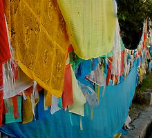 prayer flags by redbikephotos