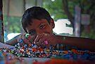 Prakash - Bangle Seller by Vikram Franklin