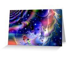 Spiritual Universe Greeting Card