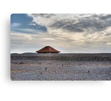 Blakeney Beach Hut Canvas Print