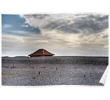 Blakeney Beach Hut Poster
