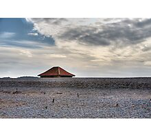 Blakeney Beach Hut Photographic Print