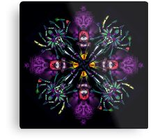 UV Goddess - mandala Metal Print
