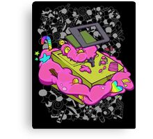 Game boy candy overload Canvas Print