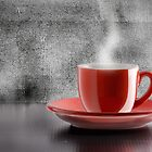 Hot coffee by Alessio  Cola