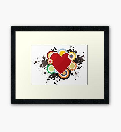 Heart - I Love Heart Framed Print