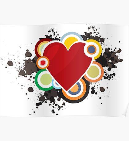 Heart - I Love Heart Poster