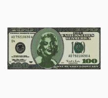 MARYLYN MONROE $100 US.......DOLLAR by Matterotica