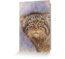Berry's Pallas' Cat Greeting Card