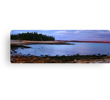The sea wall Canvas Print