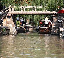 Zhu Jia Jiao Canal Bridge by phil decocco
